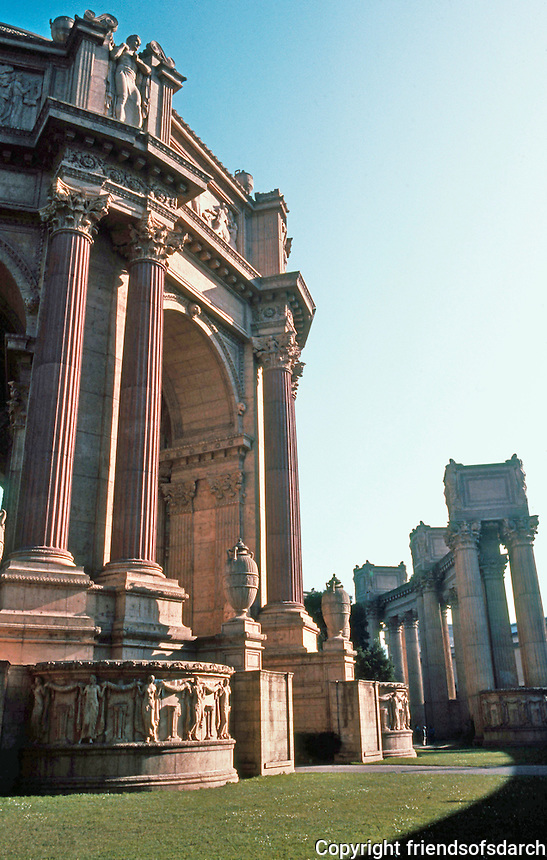 Bernard Maybeck: Palace of Fine Arts, San Francisco. Photo '83.