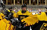 04.01.2020, BLZ Arena, Füssen / Fuessen, GER, IIHF Ice Hockey U18 Women's World Championship DIV I Group A, <br /> Deutschland (GER) vs Daenemark (DEN), im Bild Jennifer Miller (GER, #14), Jubel nach Tor zum 1:0<br /> <br /> Foto © nordphoto / Hafner
