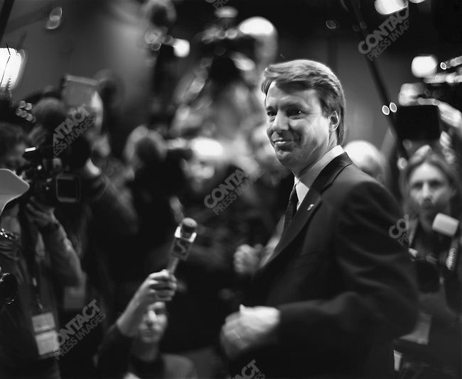 John Edwards, Democratic primary debate, Des Moines, Iowa, January 4, 2004.