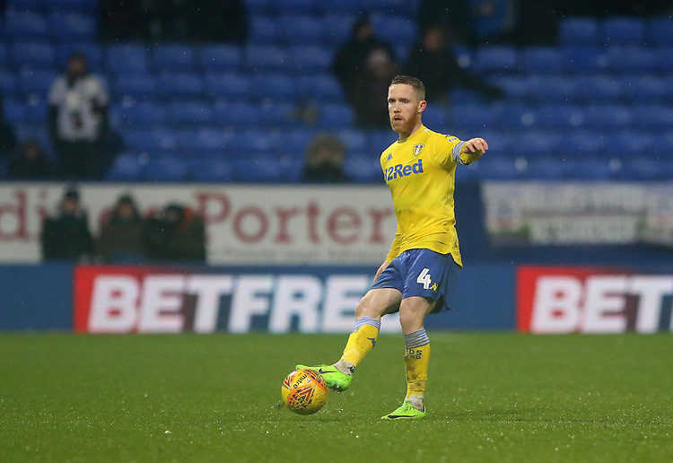 Leeds United's Adam Forshaw<br /> <br /> Photographer Stephen White/CameraSport<br /> <br /> The EFL Sky Bet Championship - Bolton Wanderers v Leeds United - Saturday 15th December 2018 - University of Bolton Stadium - Bolton<br /> <br /> World Copyright © 2018 CameraSport. All rights reserved. 43 Linden Ave. Countesthorpe. Leicester. England. LE8 5PG - Tel: +44 (0) 116 277 4147 - admin@camerasport.com - www.camerasport.com
