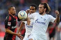 FUSSBALL   1. BUNDESLIGA   SAISON 2011/2012    10. SPIELTAG Bayer 04 Leverkusen - FC Schalke 04                        23.10.2011 Sidney SAM (li, Leverkusen) gegen Christian FUCHS (re, Schalke)