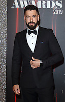 Shayne Ward at The British Soap Awards 2019 arrivals. The Lowry, Media City, Salford, Manchester, UK on June 1st 2019<br /> CAP/ROS<br /> ©ROS/Capital Pictures