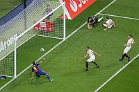 FC Barcelona's Luis Suarez scored goal during Spanish King's Cup Final match. April 21,2018. (ALTERPHOTOS/Acero)