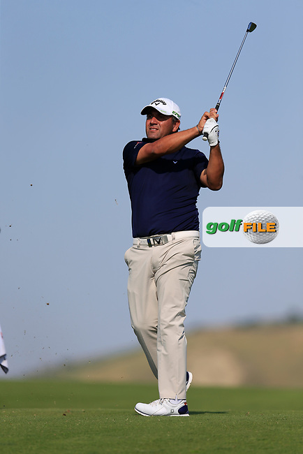 Ricardo Gonzalez (ARG) on the 10th during the 1st round the The Rocco Forte Open, Verdura Golf &amp; Spa Resort, Agrigento, Sicily, Italy. 18/05/2017.<br /> Picture: Golffile | Fran Caffrey<br /> <br /> <br /> All photo usage must carry mandatory copyright credit (&copy; Golffile | Fran Caffrey)