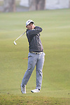 Masahiro Kawamura of Japan plays an approach shot during the 58th UBS Hong Kong Golf Open as part of the European Tour on 09 December 2016, at the Hong Kong Golf Club, Fanling, Hong Kong, China. Photo by Vivek Prakash / Power Sport Images