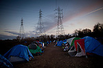 The SafeGround camp in Sacramento, Calif., January 13, 2011.