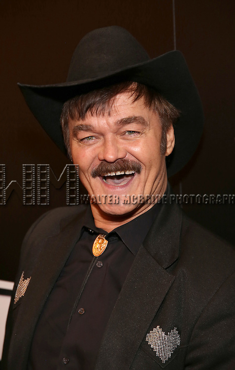 Randy Jones attend the Broadway Opening Night of Sunset Boulevard' at the Palace Theatre Theatre on February 9, 2017 in New York City.