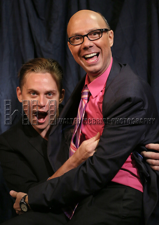 Billy Magnussen & Richard Ridge  'In The Spotlight' at the 2013 Tony Awards Meet The Nominees Junket  at the Millennium Broadway Hotel in New York on 5/1/2013...