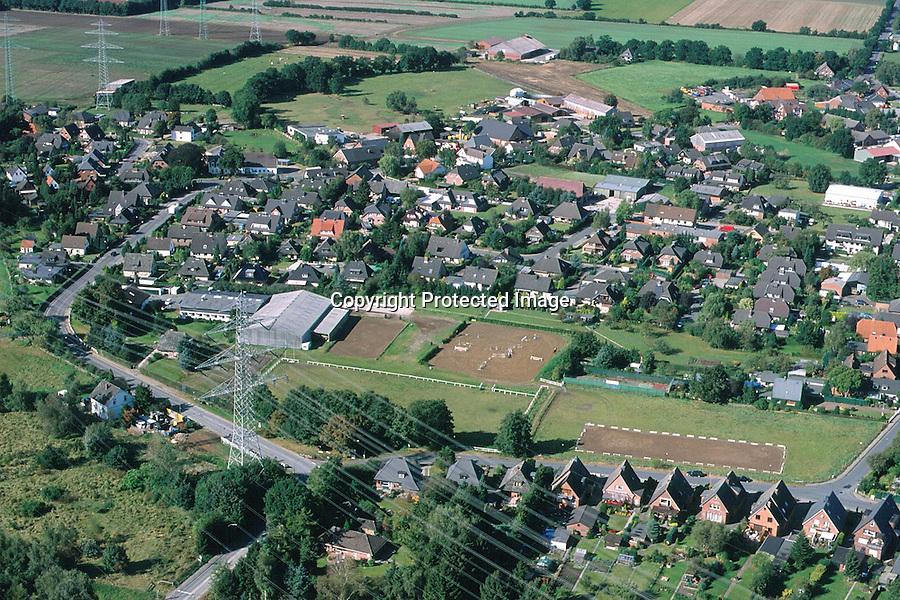 Deutschland, Schleswig- Holstein, Havighorst, Reitschule Carstens