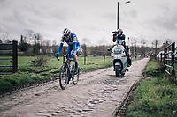 Rémi CAVAGNA (FRA/Deceuninck-Quick Step)<br /> <br /> 51th Le Samyn 2019 <br /> Quaregnon to Dour (BEL): 200km<br /> <br /> ©kramon