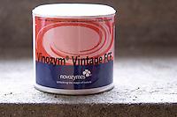 Vinozym Vintage FCE pectinase enzyme. Domaine de la Perriere, Sancerre, Loire, France