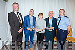 Best Filling Station at the Tralee Tidy Towns awards in the Rose Hotel on Tuesday night.<br /> Presented by Cllr Graham Spring (Mayor of Tralee) to  Kieran O&rsquo;Shea (O&rsquo;Shea&rsquo;s), Vivian Nolan (Nolan&rsquo;s Garage) and Joe O&rsquo;Connor (Joe O&rsquo;Connor&rsquo;s Garage) with Gda Mary Gardiner