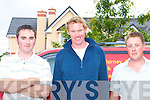 Damian Doody left and Niall O'Donoghue right meet Olympic rower Sean Casey at their farewell party at the Killarney Oaks Hotel on Thursday night   Copyright Kerry's Eye 2008