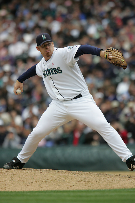 13 May 2007: Seattle Mariners #20 J.J. Putz Seattle Mariners vs New York Yankees at Safeco Park in Seattle, Washington.