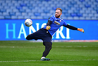 Bolton Wanderers' Ben Alnwick during the pre-match warm-up<br /> <br /> Photographer Chris Vaughan/CameraSport<br /> <br /> The EFL Sky Bet Championship - Sheffield Wednesday v Bolton Wanderers - Saturday 10th March 2018 - Hillsborough - Sheffield<br /> <br /> World Copyright &copy; 2018 CameraSport. All rights reserved. 43 Linden Ave. Countesthorpe. Leicester. England. LE8 5PG - Tel: +44 (0) 116 277 4147 - admin@camerasport.com - www.camerasport.com
