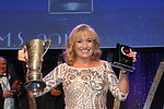 Bronwyn Andrews, Teachers Musical Society Dublin winner of the   Best Actress Award/ Gilbert Section for for her role as Mrs Lovett in Sweeney Todd' at the Association of Irish Musical Societies (AIMS) annual awards in the INEC, Killarney at the weekend. <br /> Photo Don MacMonagle<br /> <br /> repro free photo AIMS<br /> Further info: Kate Furlong PRO kate.furlong84@gmail.com