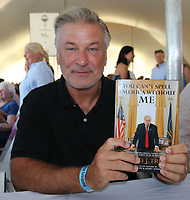 EAST HAMPTON, NY - August 10:Alec Baldwin at the East Hampton Library Authors night on August 10, 2019 in East Hampton, NY. <br /> CAP/MPI98<br /> ©MPI98/Capital Pictures