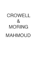Crowell & Moring MAHMOUD