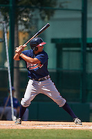 Atlanta Braves Lucas Herbert (80) during an instructional league game against the Toronto Blue Jays on September 30, 2015 at the ESPN Wide World of Sports Complex in Orlando, Florida.  (Mike Janes/Four Seam Images)