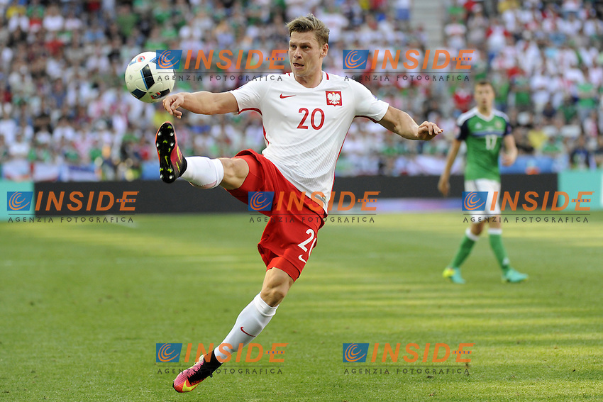 Lukasz Piszczek <br /> Nice 12-06-2016 Stade de Nice Football Euro2016 Poland - Northern Ireland / Polonia - Irlanda del Nord Group Stage Group C. Foto Pennant / Panoramic / Insidefoto
