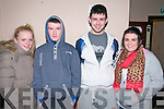 Trojan Boxing Club Show: Attending the Trojan Boxing Club Show at Tomasin's Bar, Liselton On Saturday last were Saoirse Kelly, Denis Mcacarthy, Neil Mahony  & Stephanie McCarthy all from Killarney.
