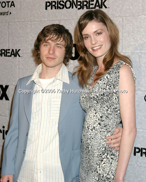 Marshall Allman.and fiance Jamie Brown.Prison Break Wrap Party.Twentieth Century Fox Lot.Los Angeles, CA.April 27, 2006.©2006 Kathy Hutchins / Hutchins Photo..