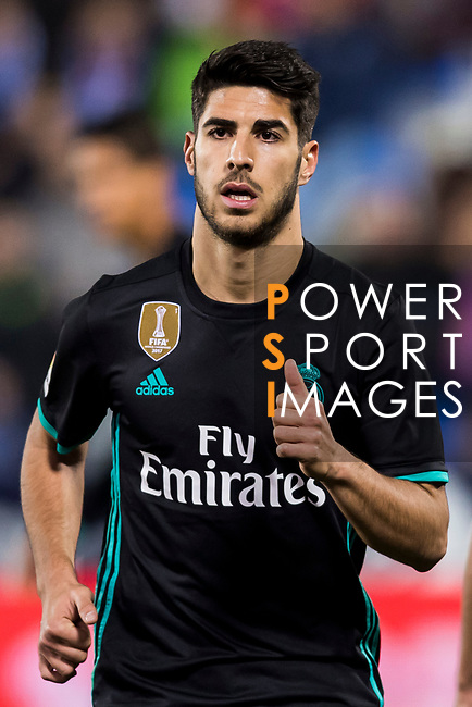 Marco Asensio Willemsen of Real Madrid looks on during the Copa del Rey 2017-18 match between CD Leganes and Real Madrid at Estadio Municipal Butarque on 18 January 2018 in Leganes, Spain. Photo by Diego Gonzalez / Power Sport Images