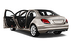Car images close up view of a 2019 Mercedes Benz C Class Business Solution 4 Door Sedan doors