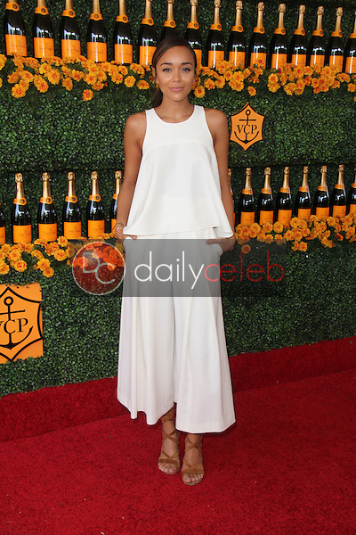 Ashley Madekwe <br /> at the Sixth-Annual Veuve Clicquot Polo Classic, Will Rogers State Historic Park, Pacific Palisades, CA 10-17-15<br /> David Edwards/Dailyceleb.com 818-249-4998