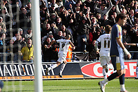 Pictured: Darren Pratley of Swansea City <br /> Re: Coca Cola Championship, Swansea City FC v Cardiff City at the Liberty Stadium. Swansea, south Wales, Sunday 30 November 2008.<br /> Picture by D Legakis Photography / Athena Picture Agency, Swansea 07815441513