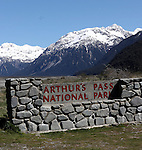 NZ 16 Arthurs Pass & Boulders