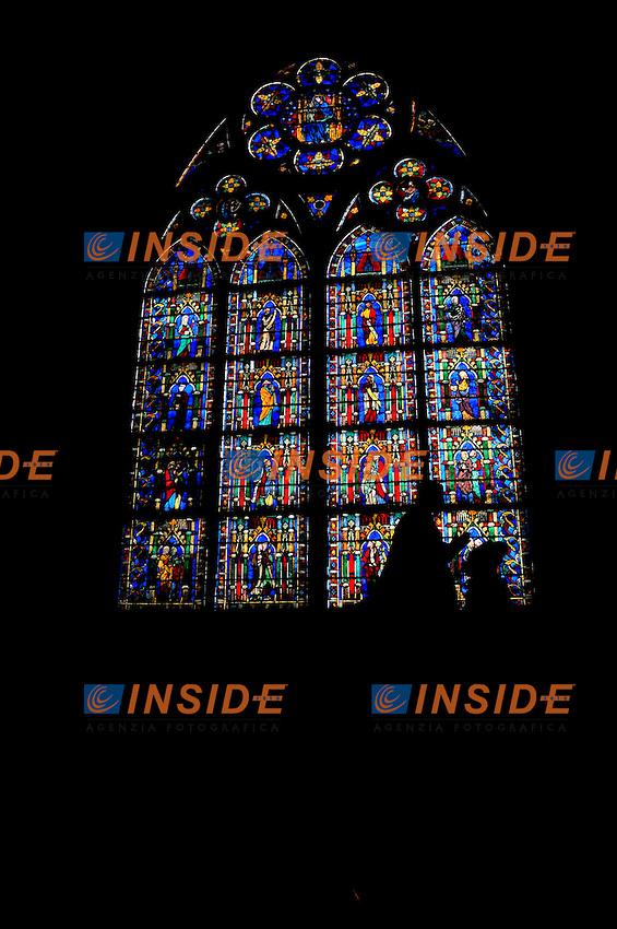 850mo anniversario della Basilica di Notre Dame .Parigi 15/2/2013 .Foto Gerard Roussel / PANORAMIC / Insidefoto .Italy Only.