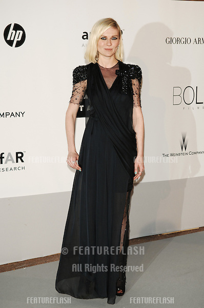 Kirsten Dunst  at the amfAR Cinema Against AIDS Gala at the Hotel du Cap, Antibes..May 20, 2010  Antibes, France.Picture: Paul Smith / Featureflash