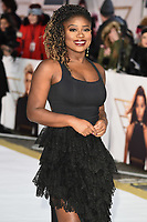 """LONDON, UK. November 20, 2019: Clara Amfo arriving for the """"Charlie's Angels"""" premiere at the Curzon Mayfair, London.<br /> Picture: Steve Vas/Featureflash"""