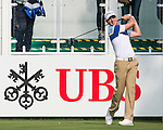 Brett Rumford of Australia tees off the first hole during the 58th UBS Hong Kong Golf Open as part of the European Tour on 08 December 2016, at the Hong Kong Golf Club, Fanling, Hong Kong, China. Photo by Marcio Rodrigo Machado / Power Sport Images