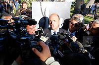 l Ministro degli Interni Angelino Alfano  al  30° Convegno dei Giovani imprenditori di Confindustria a Capri 16 Ottobre 2015