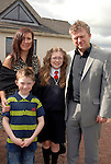 Layla Martin with her parents Anne and Fran and brother Cian at his confirmation in the Star of the Sea Church, Mornington. Photo: www.newsfile.ie