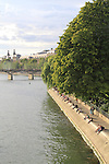 Seine River, Paris, France, Europe.