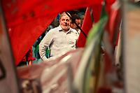 ESTAS FOTOS NAO PODEM SER VENDINDAS NO ESTADO DO PARA<br /> PA - LULA/PARÁ - POLÍTICA - O presidente Luiz Inácio Lula da Silva participa de um comício da governadora de Belém e candidata à reeleição, Ana Júlia Carepa (d), no bairro de Pedreira, em Belém (PA), nesta quinta-feira.