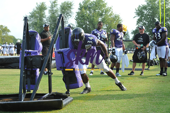 Day 9 of Ravens training camp at McDaniel College in Westminster, MD.