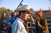 The Rider (2017)<br /> Brady Jandreau, Chlo&eacute; Zhao<br /> *Filmstill - Editorial Use Only*<br /> CAP/PLF<br /> Image supplied by Capital Pictures