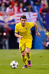 CF Rostov's player Igor Kireev during a match of UEFA Champions League at Vicente Calderon Stadium in Madrid. November 01, Spain. 2016. (ALTERPHOTOS/BorjaB.Hojas)