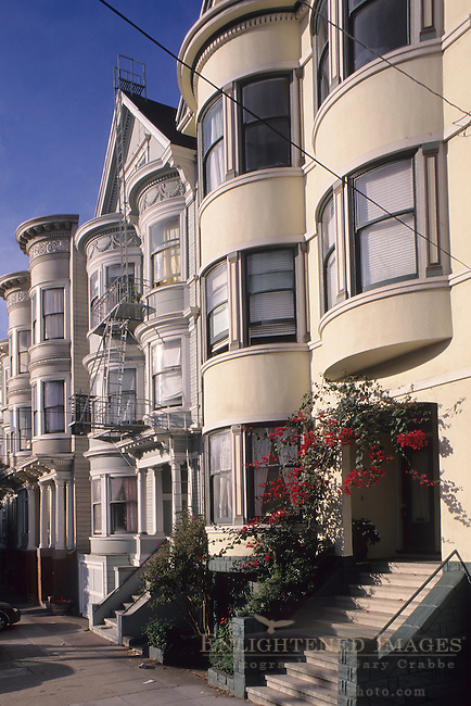 Homes in the Richmond District of San Francisco, California