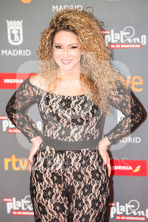 Erika Ender attends to welcome party photocall of Platino Awards 2017 at Callao Cinemas in Madrid, July 20, 2017. Spain.<br /> (ALTERPHOTOS/BorjaB.Hojas)