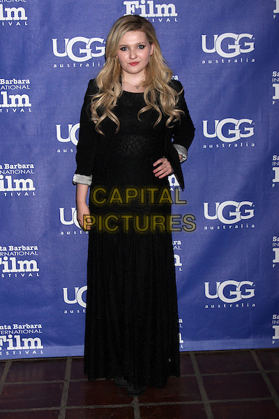 SANTA BARBARA, CA - February 05: Abigail Breslin at the Santa Barbara International Film Festival Honors Oprah Winfrey, Arlington Theater, Santa Barbara,  February 05, 2014. <br /> CAP/MPI/JO<br /> &copy;JO/MPI/Capital Pictures