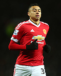 Jesse Lingard of Manchester United - Barclay's Premier League - Manchester United vs Watford - Old Trafford - Manchester - 02/03/2016 Pic Philip Oldham/SportImage
