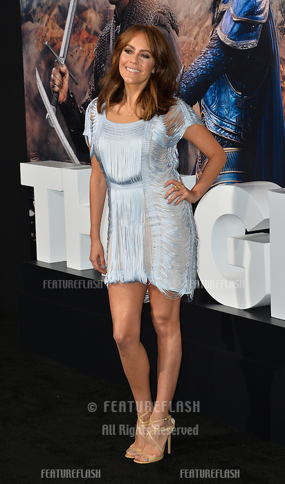 Cristina Umana at the premiere for &quot;The Great Wall&quot; at the TCL Chinese Theatre, Hollywood, Los Angeles, USA 15 February  2017<br /> Picture: Paul Smith/Featureflash/SilverHub 0208 004 5359 sales@silverhubmedia.com
