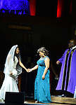 MIAMI, FL - APRIL 30: Candice Pye, Cheryl 'Pepsii' Riley and Zebulon Ellis on stage during 'Hell Hath No Fury Like A Woman Scorned' a musical play created Tyler Perry, on April 30, 2014 in Miami, Florida. (Photo by Johnny Louis/jlnphotography.com)