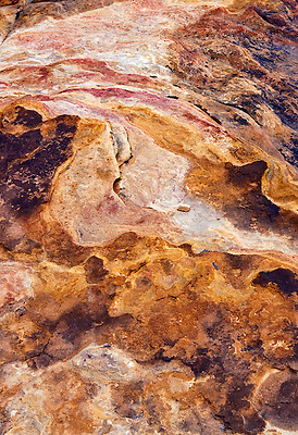 A natural abstract from Red Rock Canyon National Conservation Area, Las Vegas, Nevada.