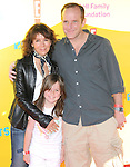 "Jennifer Grey,Clark Greg & daughter at The 12th Annual P.S. ARTS ""Express Yourself 2009"" To Help Restore Arts Education in Public Schools,The event was  held at Barker Hangar in Santa Monica, California on November 15,2009                                                                   Copyright 2009 DVS / RockinExposures"